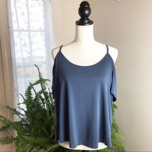 Mudd Cold Shoulder Top